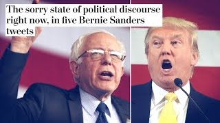 Washington Post Wants Bernie Sanders to Stop Calling Out Trump