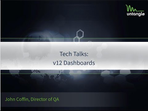 Tech Talks: v12 Dashboard