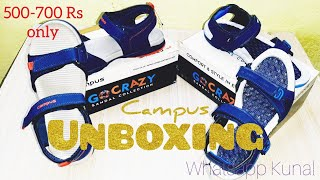 Campus Sandals Unboxing   Campus Mens Outdoor Sandals   2GC18 & SD058   Campus   Under 500 To 700 RS
