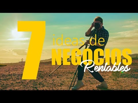 7 ideas de NEGOCIOS RENTABLES para Argentina! from YouTube · Duration:  6 minutes 52 seconds