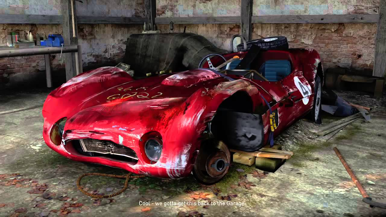 Forza Horizon 2 Barn Find 8 Maserati Tipo 61 Birdcage