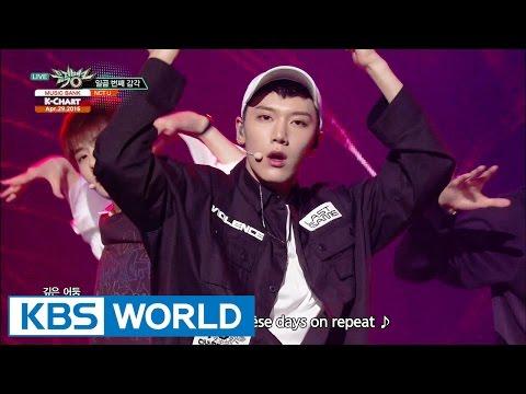 NCT U - The 7th Sense (일곱 번째 감각) [Music Bank K-Chart / 2016.04.29]