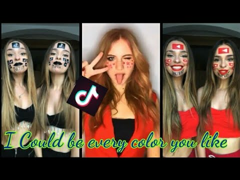 I Could Be Red Or I Could Be Yellow I Could Be Every Color You Like Tik Tok Compilation)_(2019)