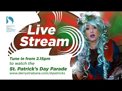St Patrick's Day Spring Carnival Parade Derry 2016