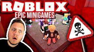 UNDSLIPPER ET SORT HUL! 🌠 💀 :: Roblox Epic Mini Games Dansk