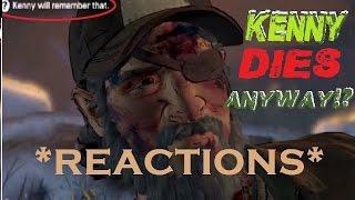 KENNY DIES?! - The Walking Dead Season 3 [REACTIONS]