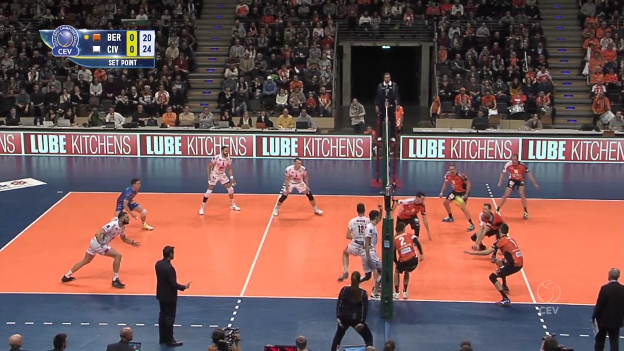 2017 clvolleym 4th round leg 1 berlin recycling volleys vs cucine lube civitanova youtube - Cucine lube civitanova ...