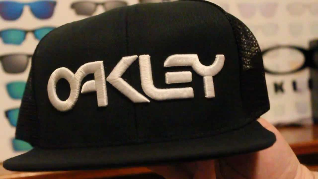 Oakley Factory Trucker Cap - YouTube 5664772d0a