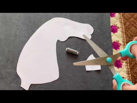 Процесс пошива хоббихорса на швейной машинке | ЗАНИМАЮСЬ ХОББИХОРСИНГОМ!?