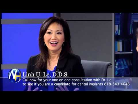 Replace Missing Teeth with Mini-Dental Implants with Los Angeles dentist Linh Le, DDS