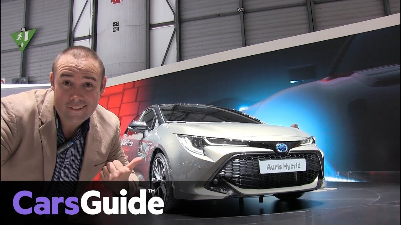 Toyota Corolla 2019 revealed at the Geneva motor show - Dauer: 81 Sekunden