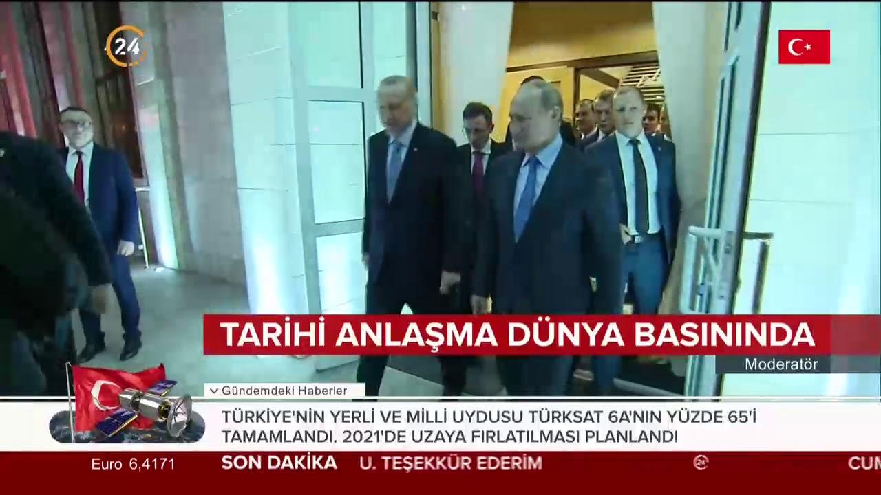 Türkiye ve Rusya arasındaki  #Soçi mutabakatı dünya basınında
