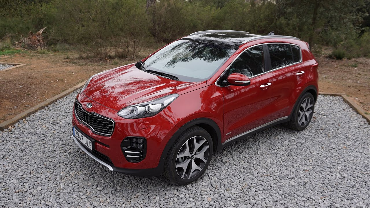 test kia sportage gt line modell 2016 2 0 crdi awd fahrbericht auto test youtube. Black Bedroom Furniture Sets. Home Design Ideas