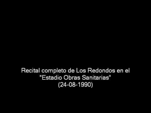 """Los Redondos en """"Estadio Obras"""" (24/08/1990) - Recital completo"""