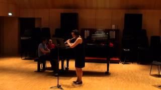 Bach Sonate flûte piano sol mineur 2e et 3e mvts