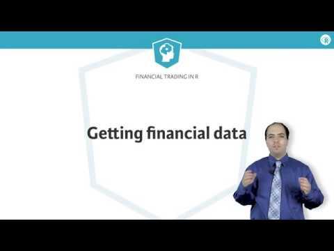 R tutorial: Getting financial data