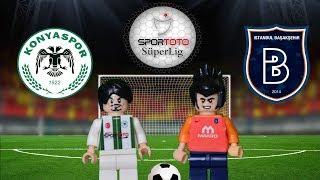 Torku Konyaspor Medipol Başakşehir 1-1 04.02.2018 (LEGO SÜPER LİG MAÇ ÖZETLERİ)/ Lego Football