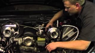 UPP G8 Top Mount Twin Turbo Installation