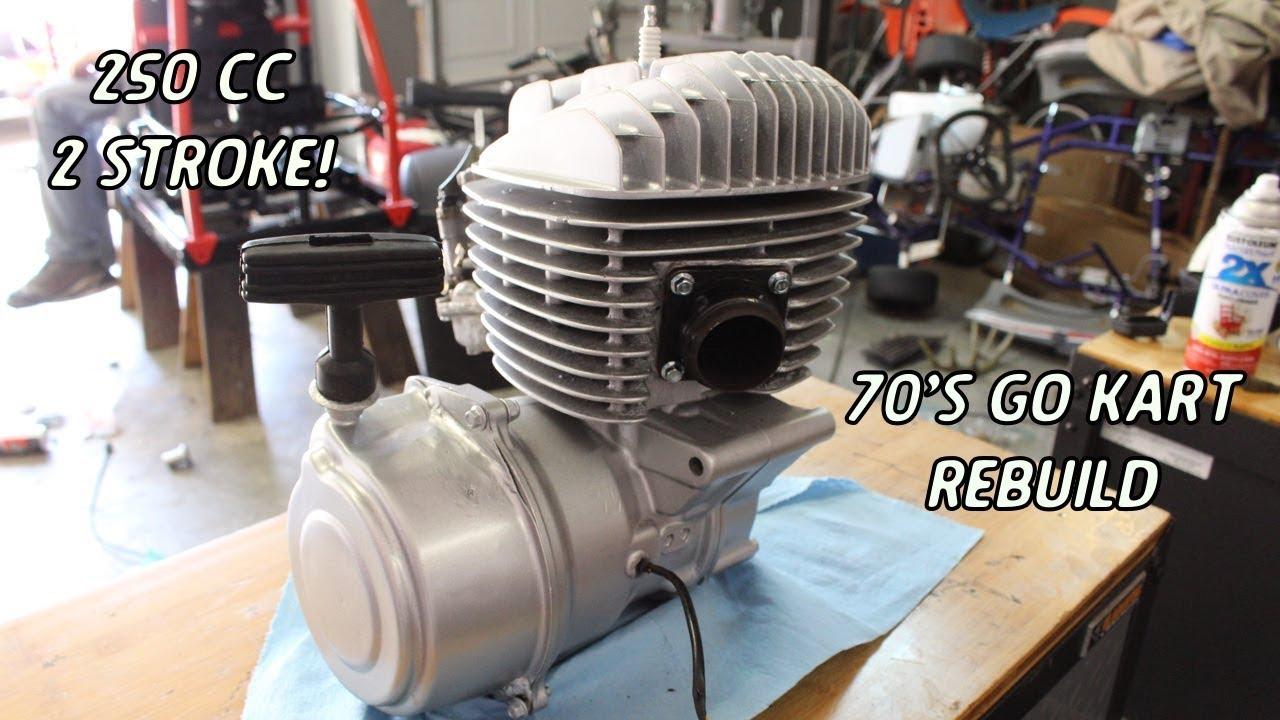 complete 250cc 2 stroke rebuild | 79 odyssey fl250 build part 1 - youtube  youtube