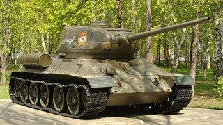 ТАНКИ Великой Отечественной войны, Выставка военной техники в Парке Победы.