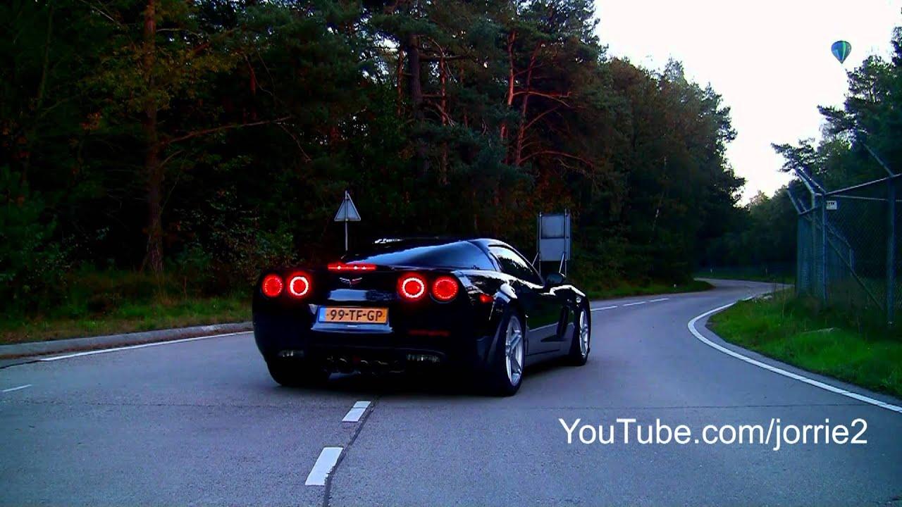 7x Corvette C6 Z06 Sound - 1080p HD - YouTube