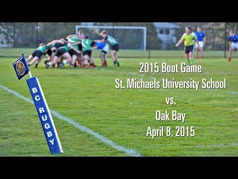 2015 Boot Game Oak Bay vs. St. Michaels University School