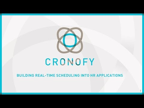 Building Real-Time Scheduling into HR Applications - Webinar