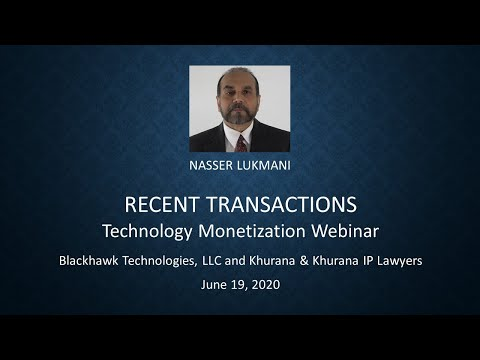 video-6:-recent-transactions-(blackhawk-and-k&k-law-firm-webinar-on-technology-commercialization)