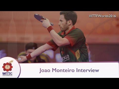 2016 World Championships Interview - Joao Monteiro