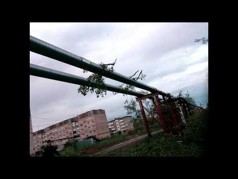 Ураган и его последствия 03.06.2017г. Верхняя Тура