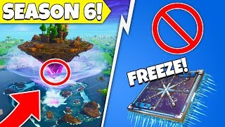 *LEAK* New Freeze Trap, Growing Cube, Shadow Stone Removed! (Fortnite Season 6 Update)