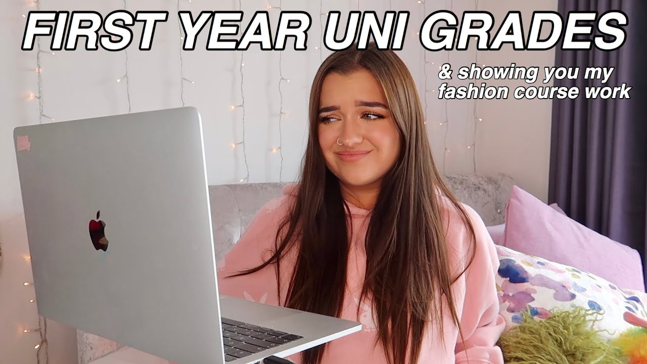 OPENING MY UNI RESULTS *LIVE* & showing you my fashion course work!