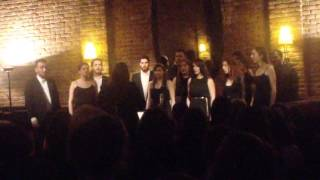 Vocal Inventions Ensemble - Verbum Supernum Prodiens (By Damijan Močnik) (14-4-2014)