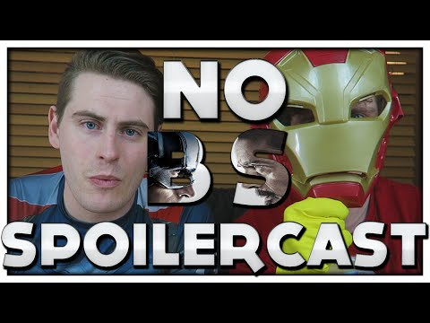 No BS Spoilercast: Captain America Civil War - Spiderman, Black Panther and Sexy Aunt May!