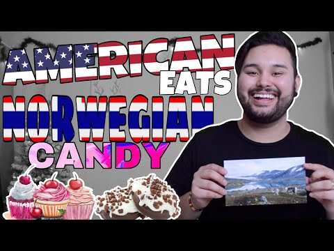 American REACTS  Norwegian Candy