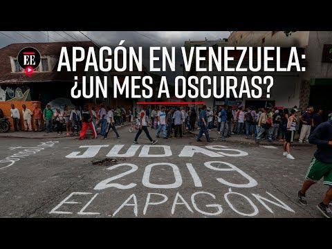 Apagón en Venezuela: el país está en riesgo de quedarse un mes sin luz   Noticias    El Espectador