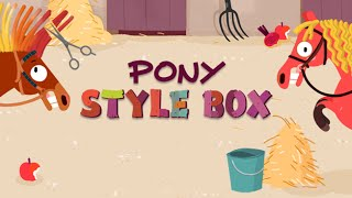 Pony Style Box - official kids app trailer
