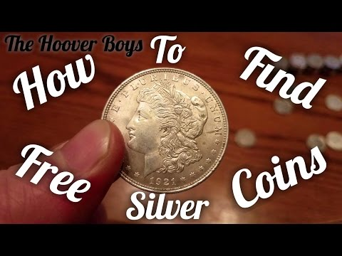 How to find free silver coins