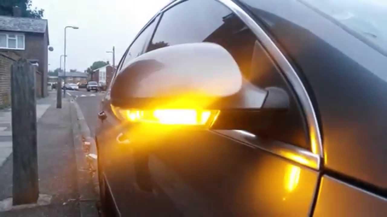 Custom Passat B6 3c Golf Mk5 Led Indicators Youtube