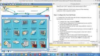 CCNA 1 PT Practice Skills Exam Type A