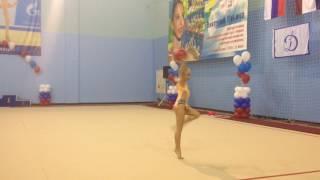 Корпунова Ульяна.Саранск. Художественная гимнастика.Мяч.
