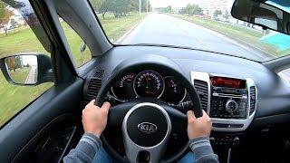 2016 KIA VENGA 1.4 (90) POV TEST DRIVE