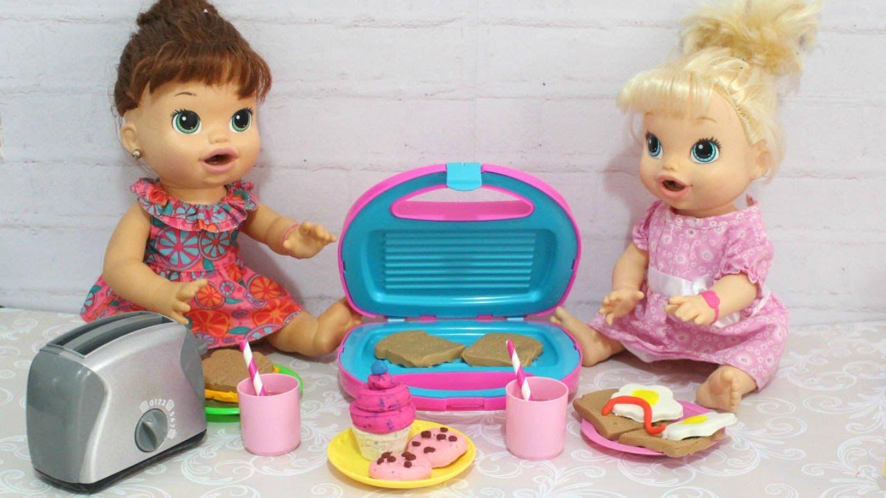 Baby Alive Comilona Sara E Hora De Comer Rotina Da Tarde