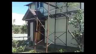 видео как изготовить строительные леса