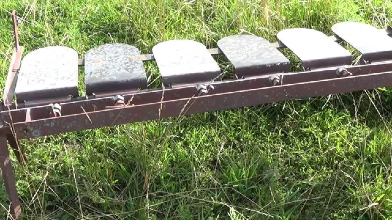 & Homemade plate rack target - YouTube