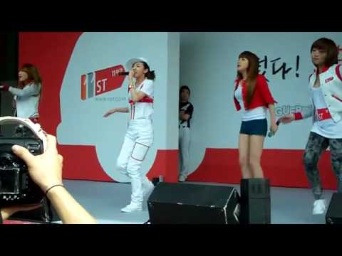 Let's Go Party -2NE1(FanCam, Jun 13, 2010)