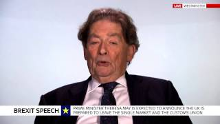 Lord Lawson: EU won't accept a 'no strings attached' trade deal