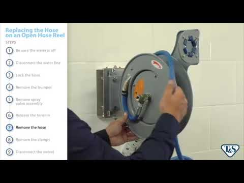 How To: Replacing The Hose On An Open Hose Reel