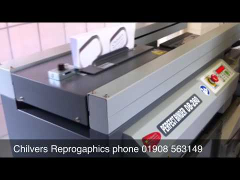 4206c4f67f53 Duplo DB 280 Hot Glue Binder - YouTube
