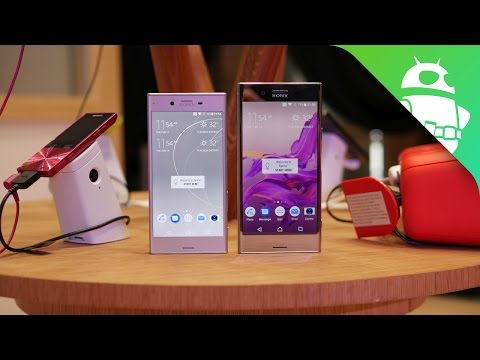 Sony Xperia XZ Premium & XZs hands on